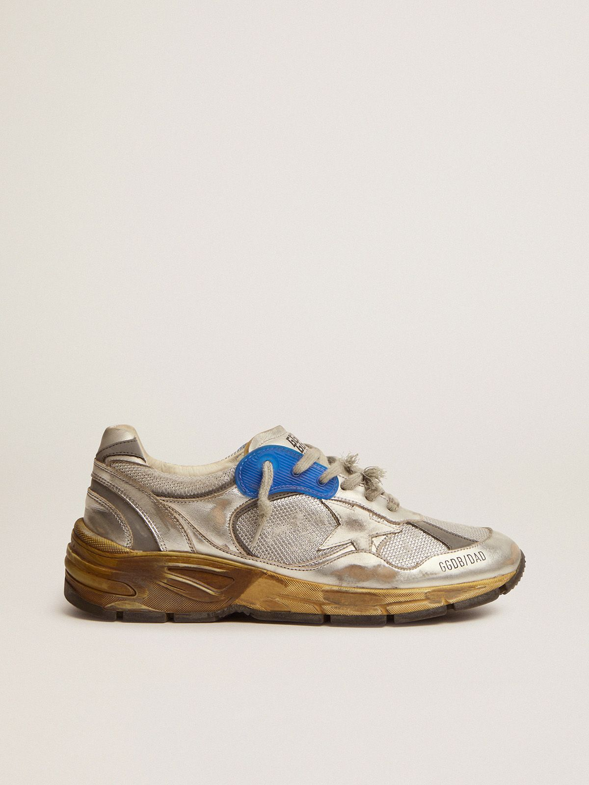 Sneakers Dad-Star donna argentate