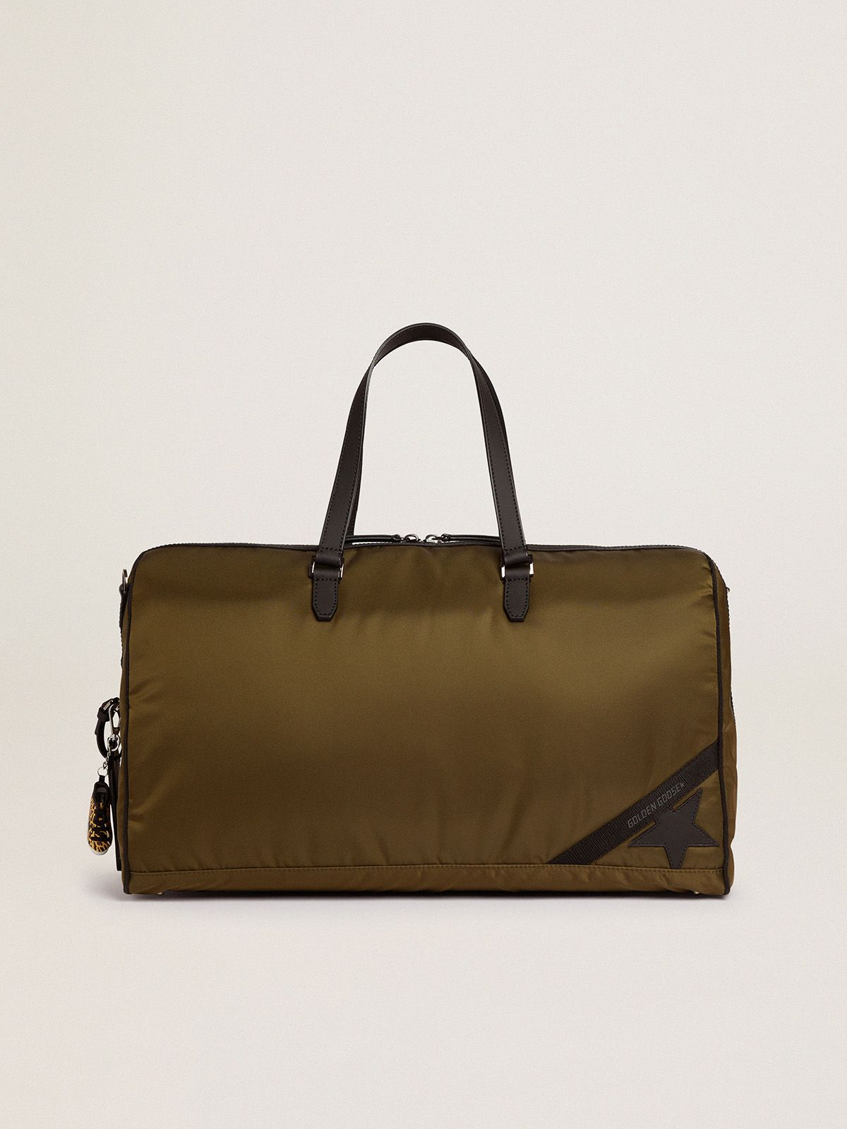 Journey Duffle Bag in nylon verde militare