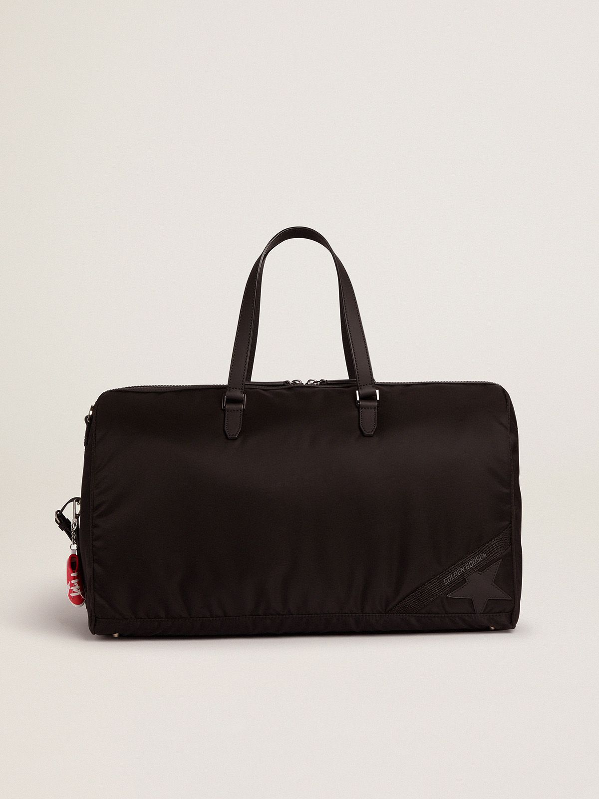 Journey Duffle Bag in nylon nero