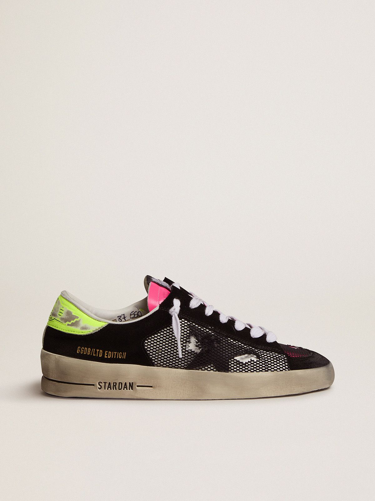 Golden Goose - Women's Limited Edition Stardan sneakers in fuchsia and yellow in