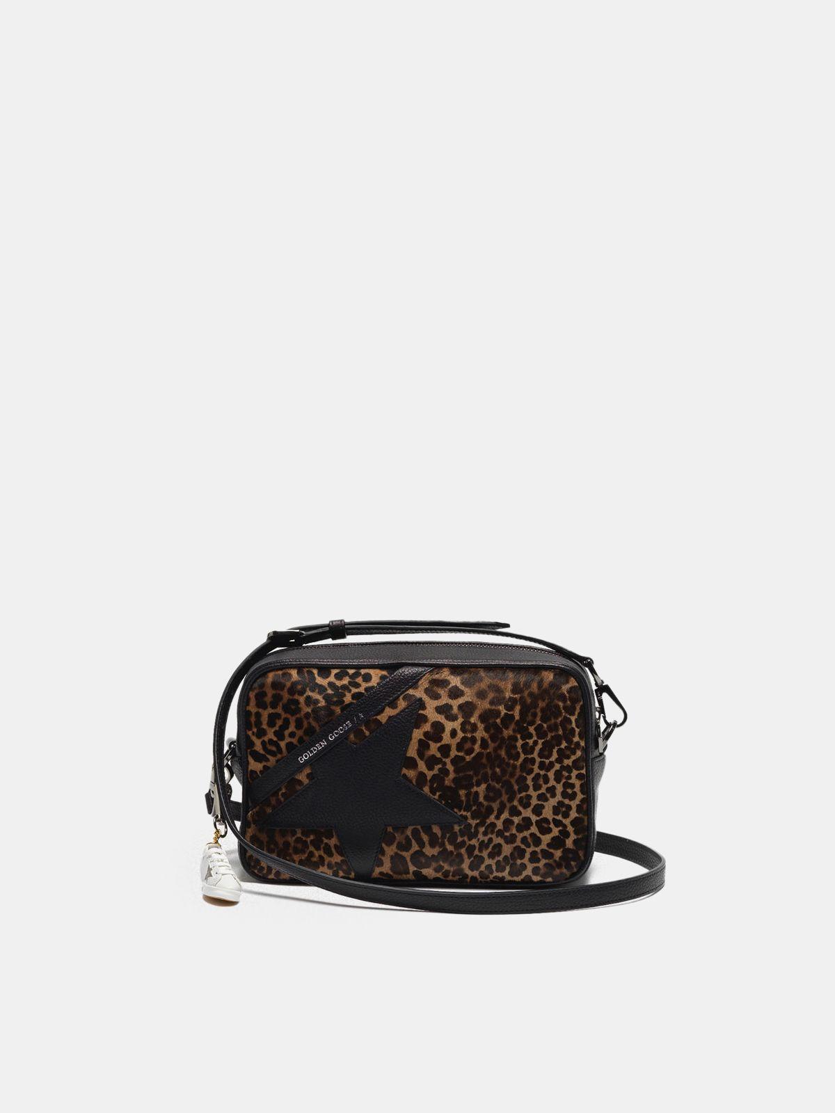 Borsa Star Bag in cavallino stampa leopardata