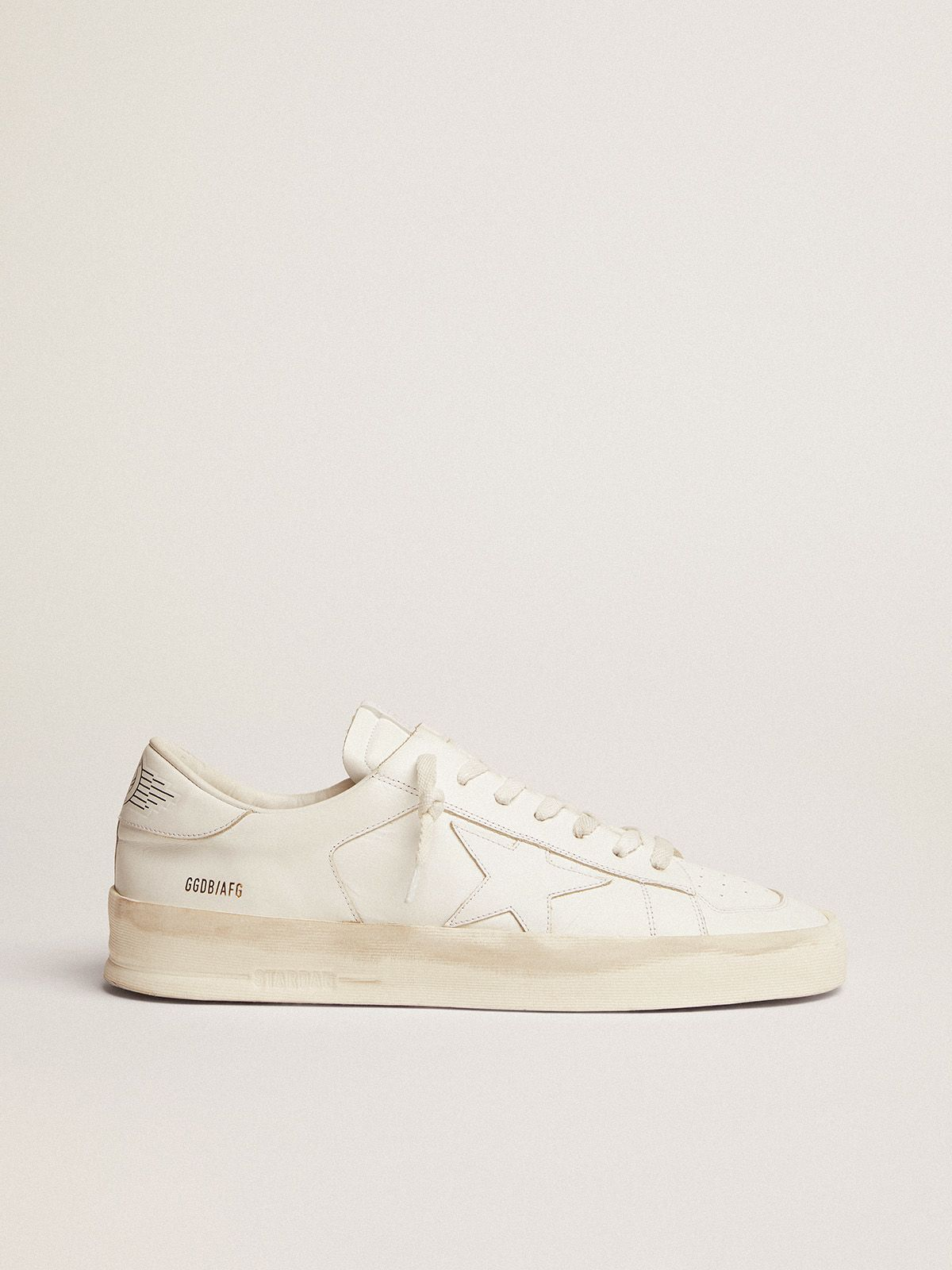 Stardan sneakers in total white leather