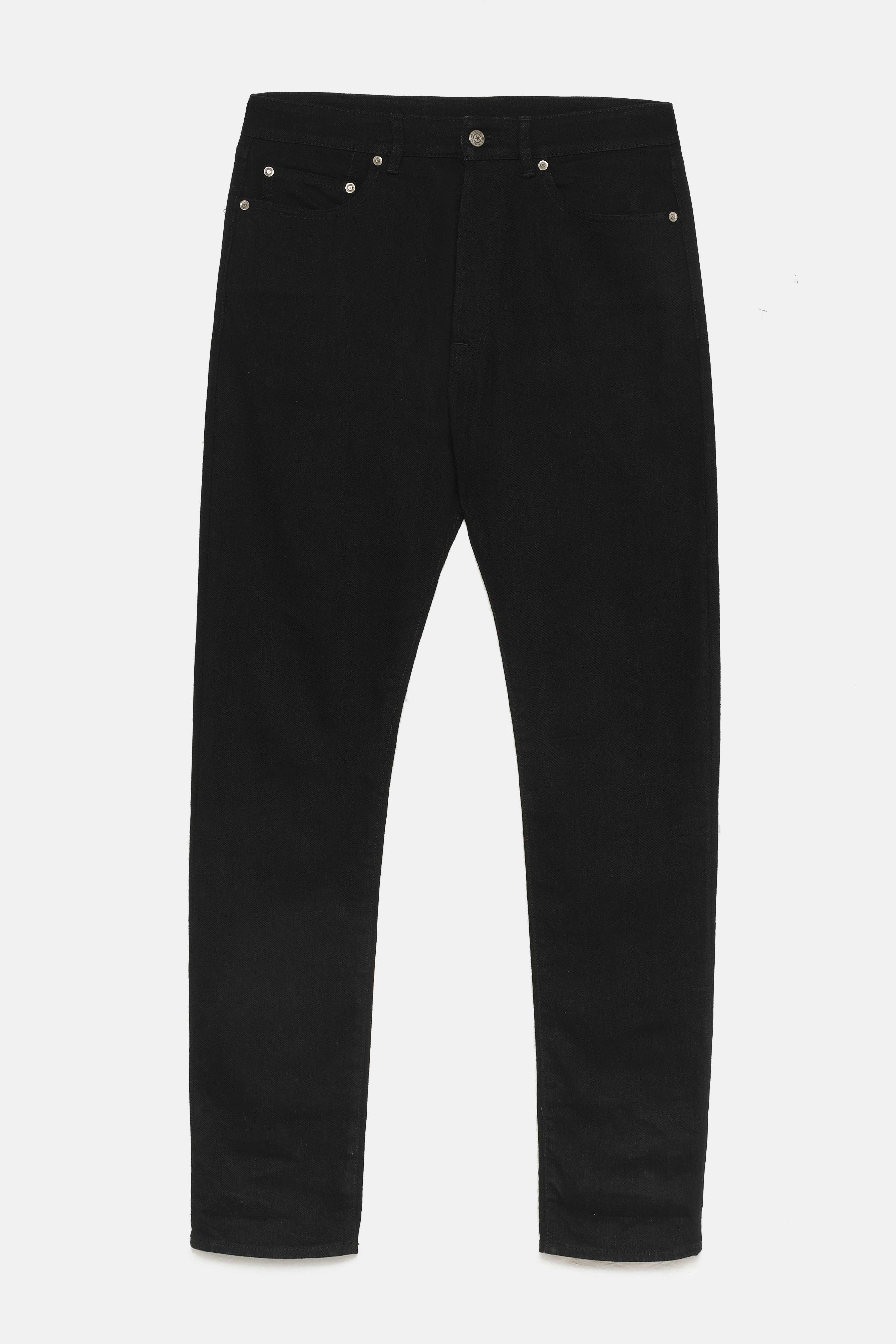 Golden Goose - Jeans Alvaro slim fit  con scritta sulla tasca posteriore in