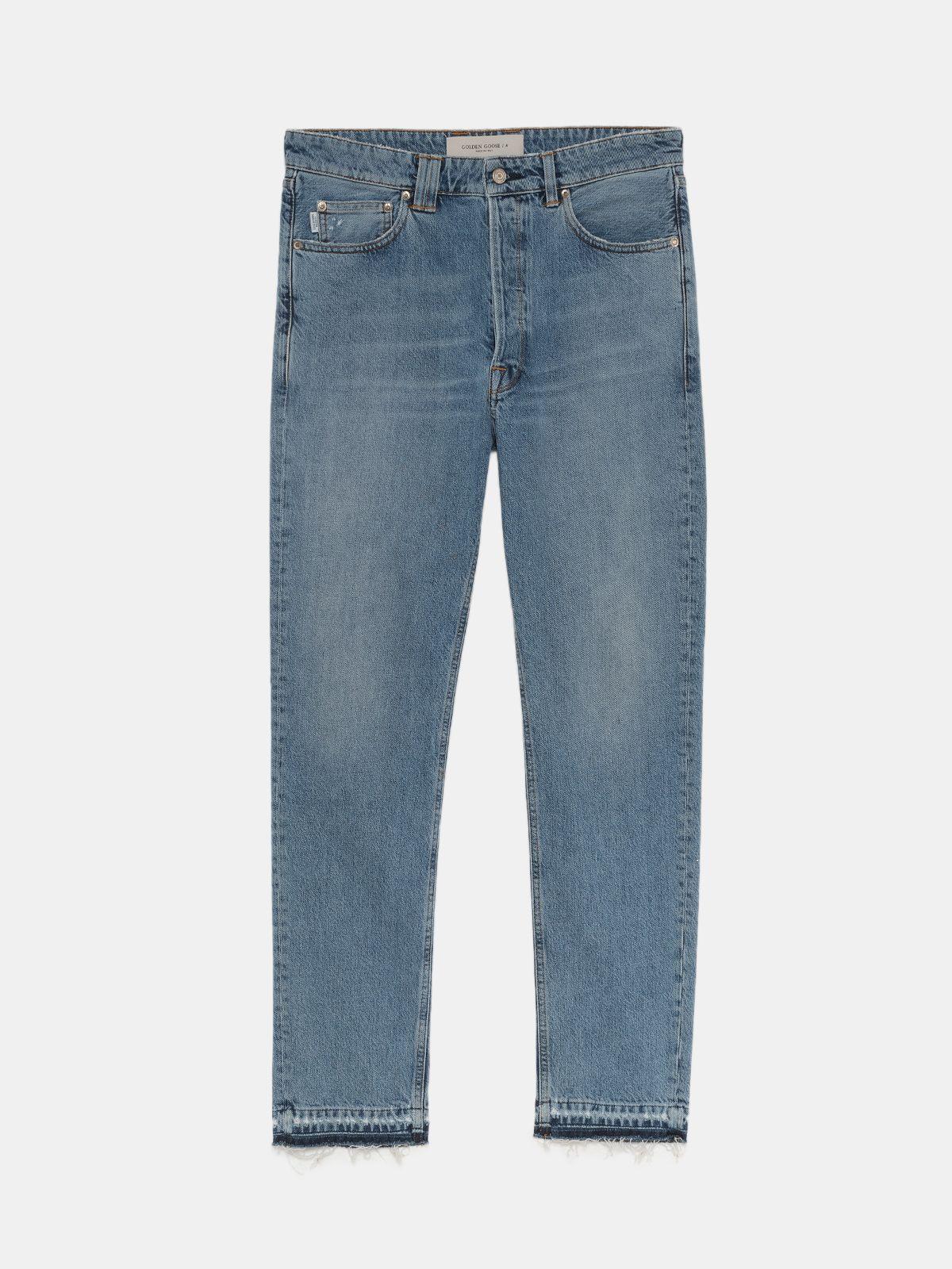 Golden Goose - Jeans Happy in denim light blue in