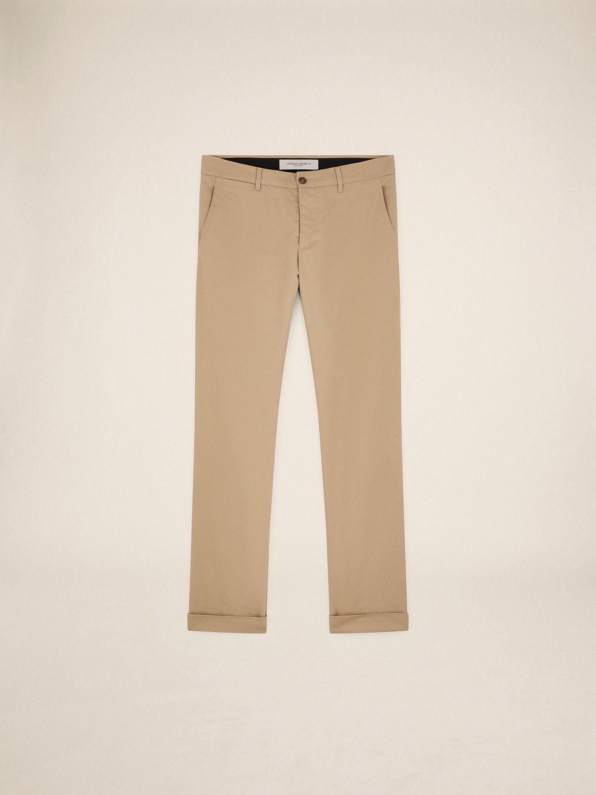 Golden Goose - Pantaloni Conrad chino in cotone in