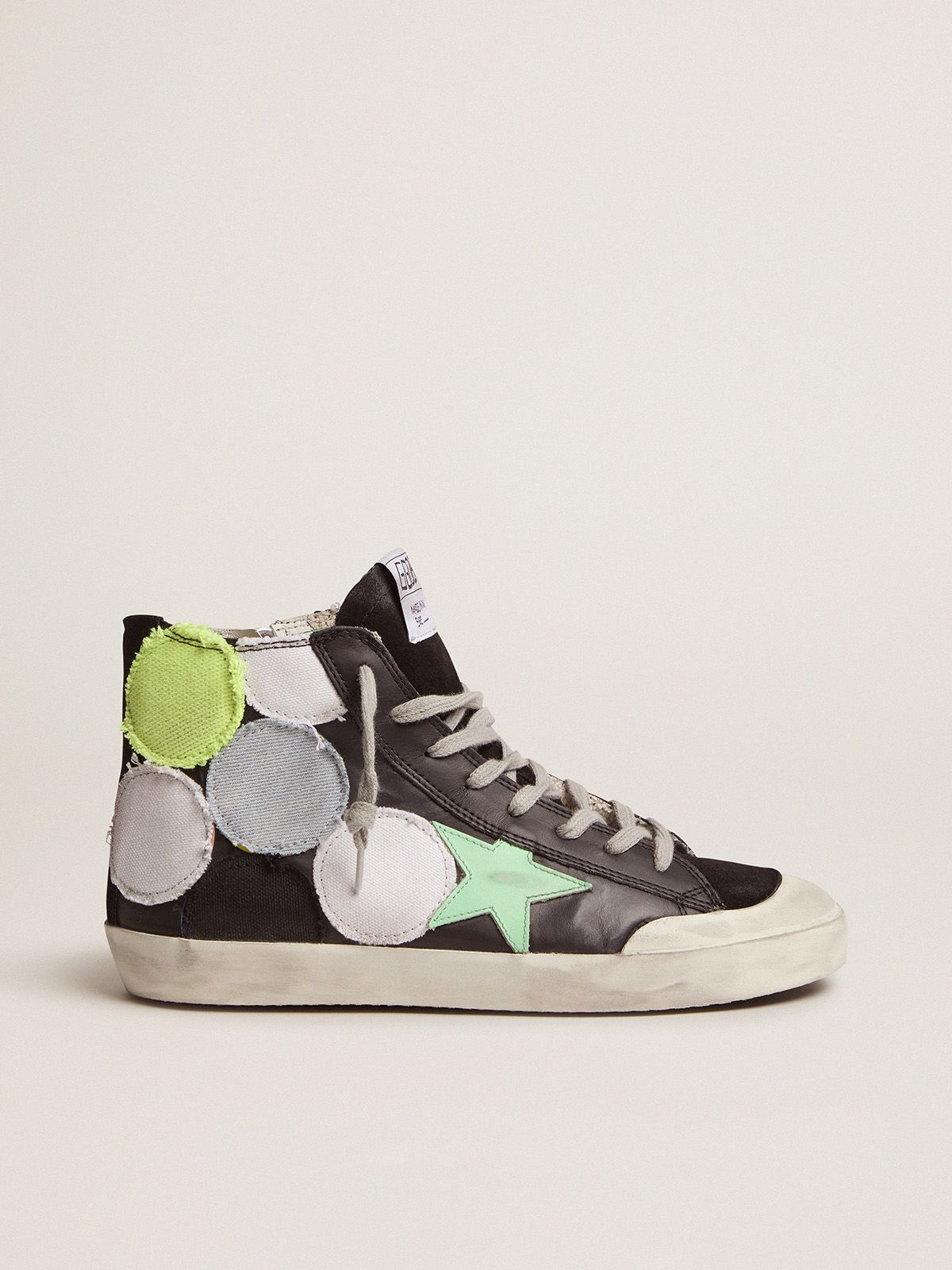 Dream Maker Collection Francy Penstar sneakers with coloured polka-dot patches