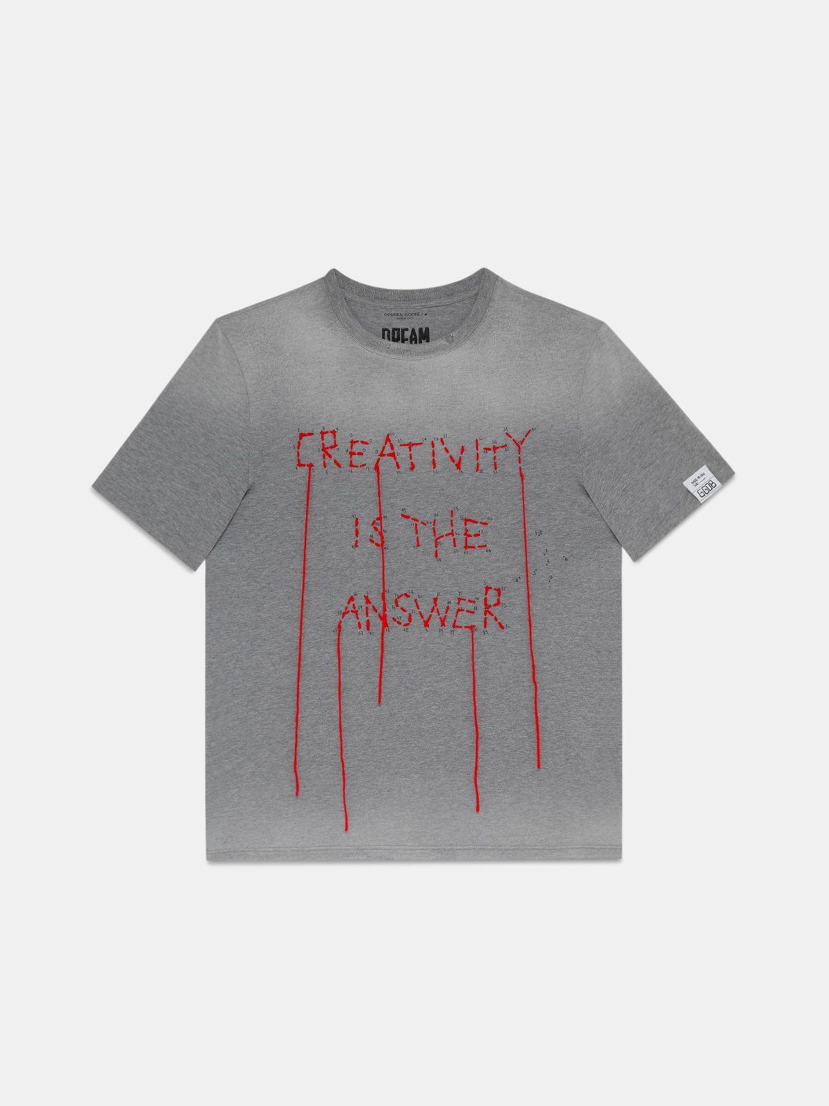T-shirt Adamo collection Dream Maker avec broderie sur le devant